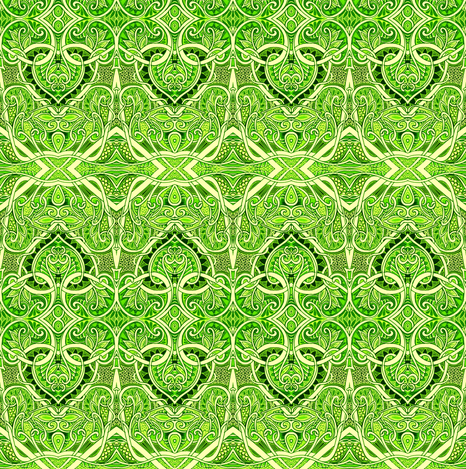 Let The Leprechauns Play fabric by edsel2084 on Spoonflower - custom fabric