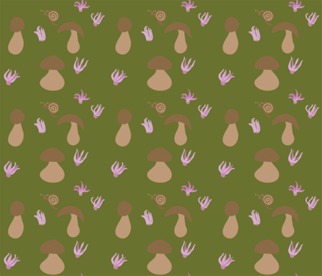 Forest_floor fabric by ruthjohanna on Spoonflower - custom fabric