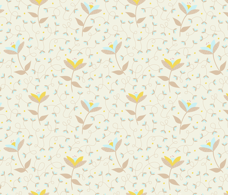 Spring Fling fabric by fabricdrawer on Spoonflower - custom fabric
