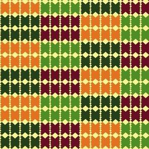 herringtooth: multi - colored