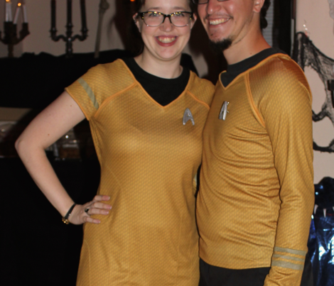 Star Trek Golden Fabric