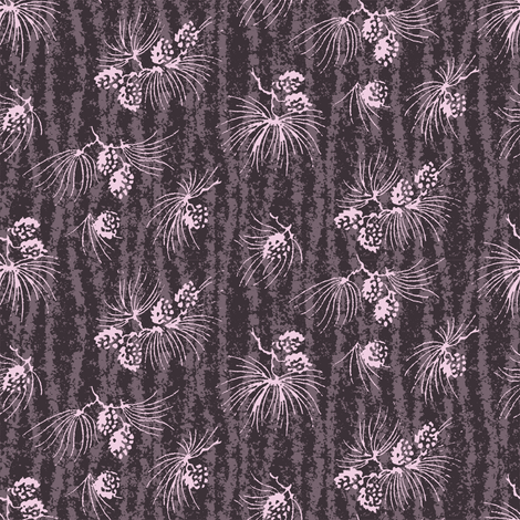 Midnight treetops fabric by keweenawchris on Spoonflower - custom fabric