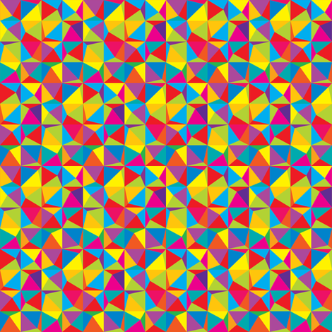 Crazy Pyramids fabric by sfrieson on Spoonflower - custom fabric