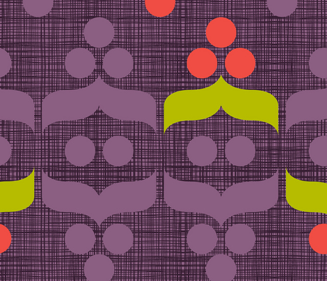 Geometric Holiday: Berry