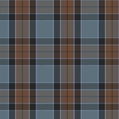altered Graham of Menteith tartan (weathered, with cyan)