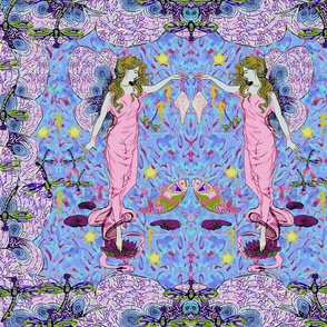 Dance Of The Sea Fairy Maidens