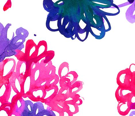 viv_tatcolorsPinkPurp fabric by cest_la_viv on Spoonflower - custom fabric