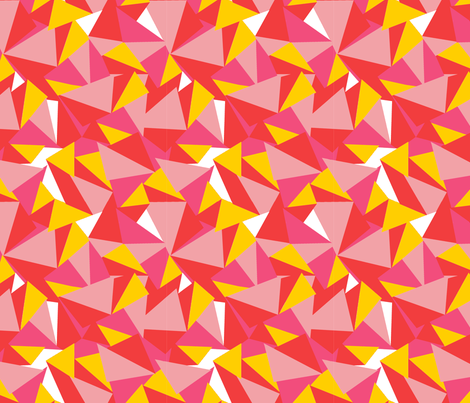Rad Facets fabric by fable_design on Spoonflower - custom fabric