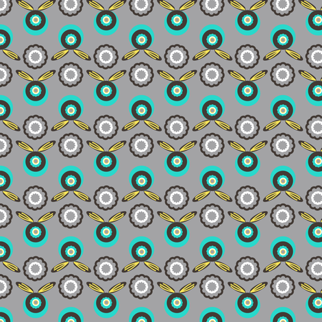 Badges fabric by mag-o on Spoonflower - custom fabric