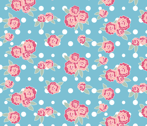 Blossoming fabric by audzipan on Spoonflower - custom fabric