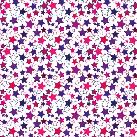 Stars5 fabric by ruthjohanna on Spoonflower - custom fabric