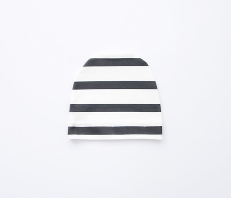 Black and White Stripes Horizontal