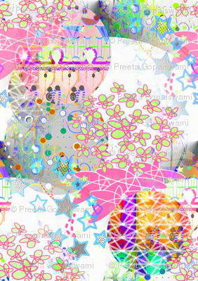 collage of stars