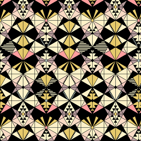 kaleidoscope fabric by kimsa on Spoonflower - custom fabric