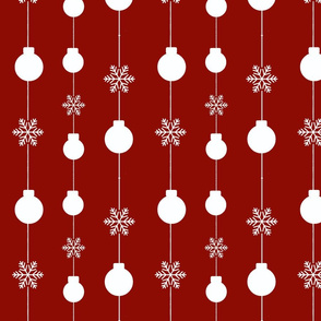 Ornaments Shower-Ruby Red