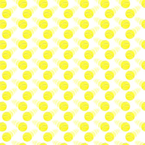 Zooming tennis balls - tiny repeat
