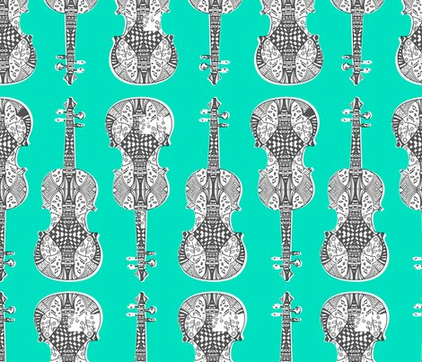 Violin_print_gray_white_green_bg.ai_shop_preview
