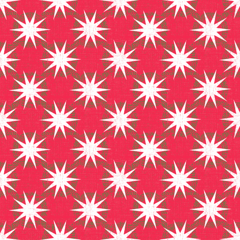Coral star fabric by keweenawchris on Spoonflower - custom fabric