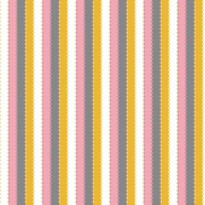 Ballet Coordinate Stripes (Pink)