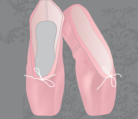 Pointes Shoes (Pink)