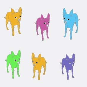 Pop Pups on Light Background