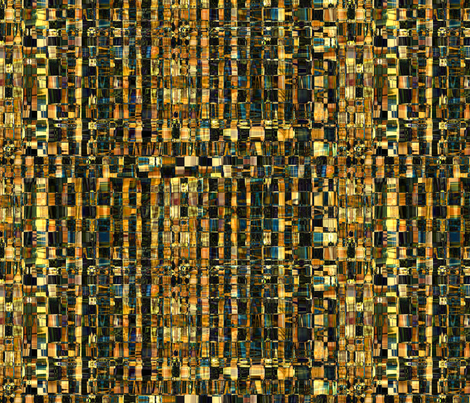 Woven Browns  fabric by jeanfogelberg on Spoonflower - custom fabric