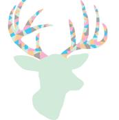 Confetti deer