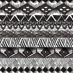Tribal Black and White GEO