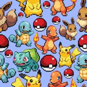 8-bit starters (blue)