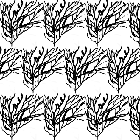 bwshoes fabric by glendat on Spoonflower - custom fabric