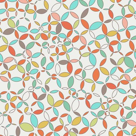circle circus fabric by littlerhodydesign on Spoonflower - custom fabric
