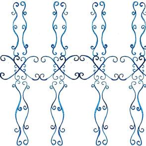 swirls-dark blue