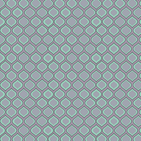 Ogee fabric by beccaliz on Spoonflower - custom fabric