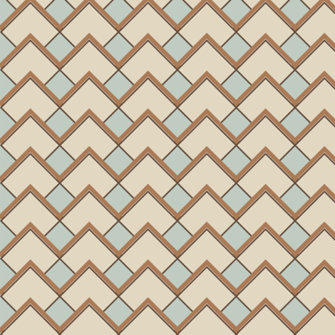 Diamond Latte fabric by deejuntax on Spoonflower - custom fabric