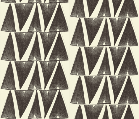 teepee tangle fabric by beccalea_edmonson on Spoonflower - custom fabric