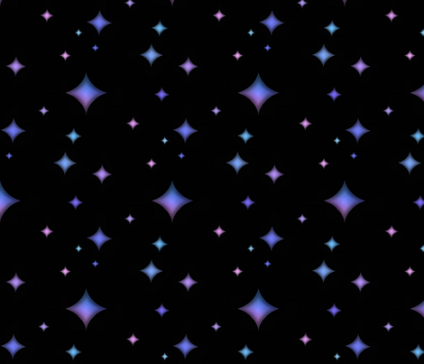 Violet Twilight fabric by sugarpinedesign on Spoonflower - custom fabric