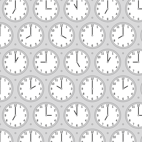 twelve hour clocks