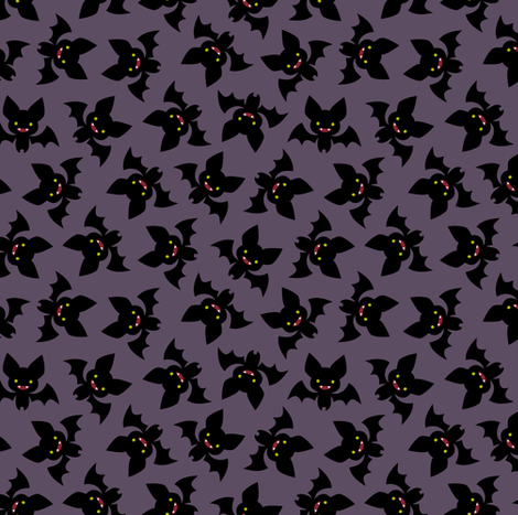 Vampire Bats fabric by petitspixels on Spoonflower - custom fabric