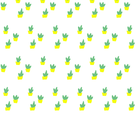 succulents fabric by dollop on Spoonflower - custom fabric