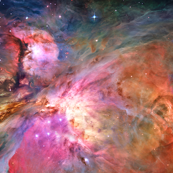 Orion Nebula Outer Space