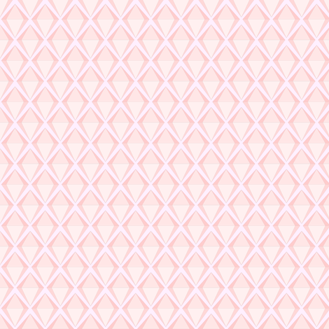 Pink diamonds are a girls best friend.... fabric by schizoclectic on Spoonflower - custom fabric