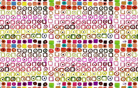 cestlaviv_GEO allsorts licorice fabric by cest_la_viv on Spoonflower - custom fabric