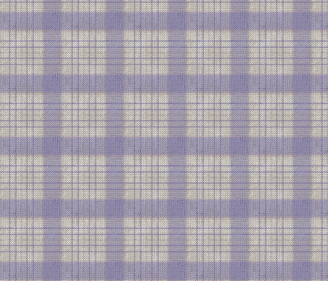 French Ticking ~ Petite Plaid fabric by peacoquettedesigns on Spoonflower - custom fabric
