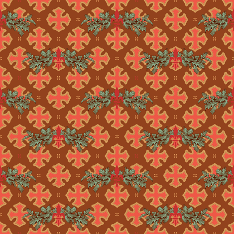 Juliet's frock fabric by keweenawchris on Spoonflower - custom fabric