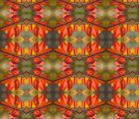 Autumn Leaves 2914 fabric by falcon11 on Spoonflower - custom fabric