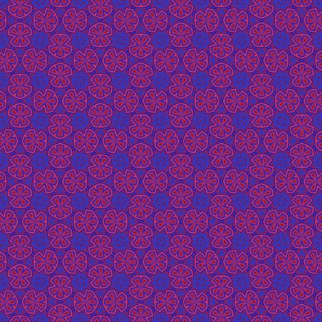 Berry Digital Ditzy Floral © Gingezel™