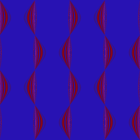 Berry Wavy Stripe Vertical © Gingezel™