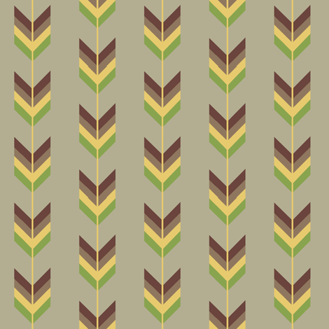 Arrow-ed fabric by dalstonite on Spoonflower - custom fabric