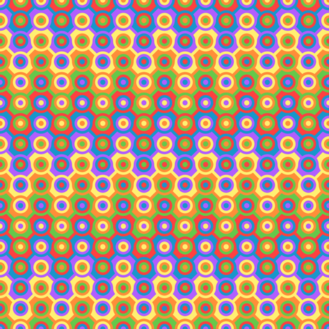 Colored Circles fabric by shala on Spoonflower - custom fabric