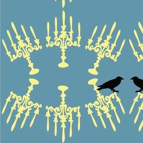 candle-crow